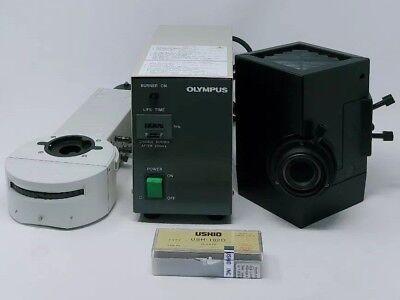 Olympus Microscope Bx Fluorescence Illuminator Lamphouse Power Supply Bulb