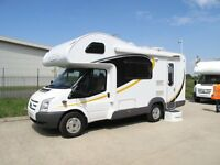AutoTrail Tribute T620 2012 5 berth motorhome based on Ford