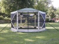 BRAND NEW Quest Elite 6-Person Instant Spring-Up Screen Sun House Gazebo Shelter cost £230