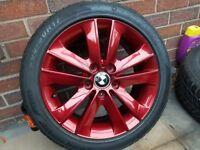 bmw 4x 205 50 17 alloy wheels