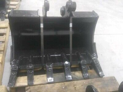 New 30 Yanmar Vio35 Heavy Duty Excavator Bucket With Pins