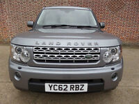 Top of the range 2012 Land Rover Discovery 4