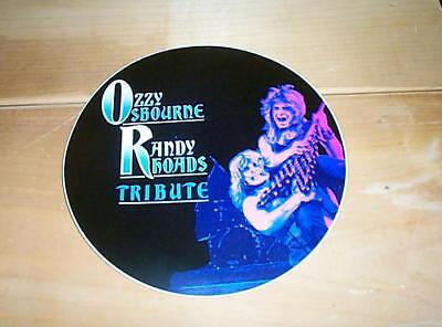 OZZY Osbourne Randy Rhoads TRIBUTE Vintage 8 inch Sticker