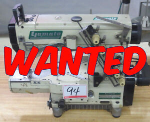 WANTED TO BUY: INDUSTRIAL COVERSTITCH MACHINE