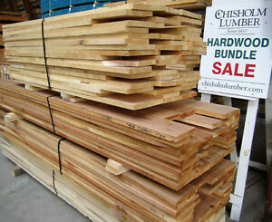 Hardwood Bundle Sale - CHISHOLM LUMBER