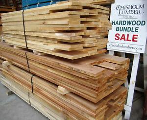 Hardwood Bundle Sale - CHISHOLM LUMBER