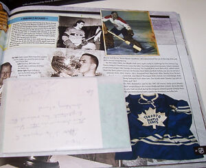 The Official NHL Hockey Treasures Hardcover Book London Ontario image 3
