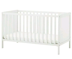 IKEA Sundvik Cot/Cot Bed - Size 60x120 - in White