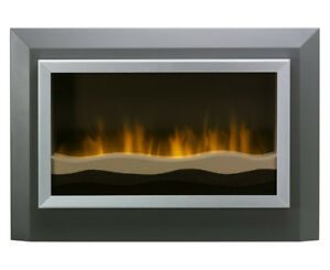 Dimplex Sahara Wall Mount Electric Fireplace - mint condition