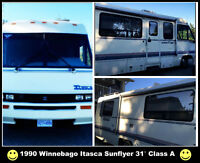 1990 Winnebago Itasca Sunflyer must see it ...you won't believe