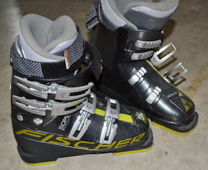 Youth Fischer ski boots