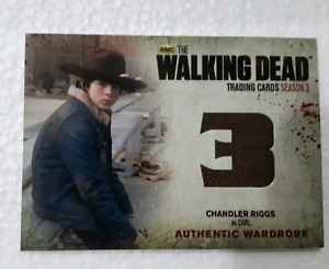 The walking dead trading card with