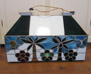 Big Stained Glass lamp - Make a reasonable offer