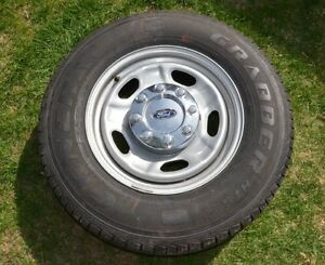 ** New LT245-75-17 Truck 10 ply tires and rims **