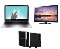 SELL ME YOUR LAPTOP, HD TELEVISION, COMPUTER, MACBOOK, PS3, PS4