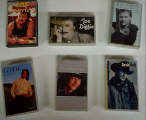 240 Music Cassette Tapes - 25 cents each - 25 for $5.00