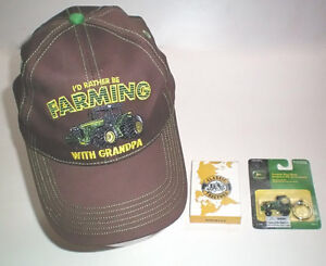 John Deere Youth Hat Key Chain and Tractor Playing Cards London Ontario image 1
