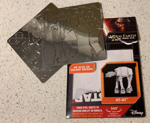 Metal Earth 3-D Start Wars At-At Opened But NEVER used