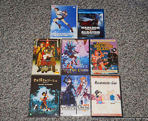 Various Anime DVD & Blu-ray Movies