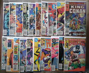Collectable comic lot