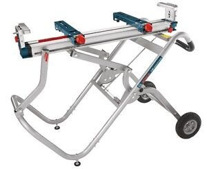 Bosch Gravity-Rise Miter Saw Stand with Wheels - T4B