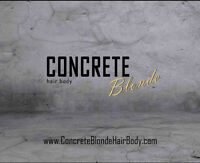 Concrete Blonde is HIRING Licensed Stylists