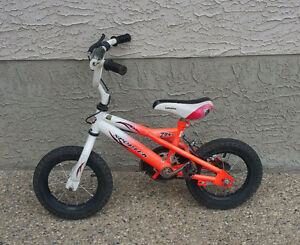 """Toddler bike with 12"""" wheels"""