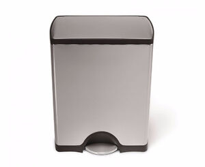 Simple Human 50 litre garbage step can NEW - poubelle neuve