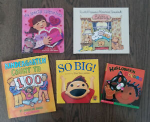 5 picture books for only $12! *Like new condition - never used*