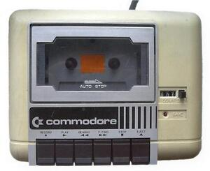 VINTAGE 1530 DATASSETTE FOR COMMODORE COMPUTERS