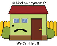 Trouble With Your House Payments? We can help!