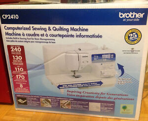 Brand new Brother computerized sewing/quilting machine