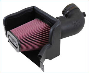 K&N - Air Charger Cold Air Intake  Corvette 6.2L 14-18 (633081)