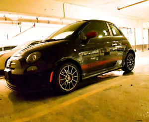 2015 Fiat 500 Abarth convertable (turbo)