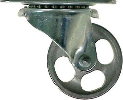 Shepherd Steel 2 In. Dia. Swivel Gray Caster 125 Lb. 1 Pk