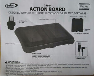 Wii Action Board - Black - Standard Edition BRAND NEW