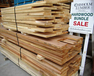 WIDE CLEAR MAPLE, OAK, ASH SHORTS - Chisholm Lumber