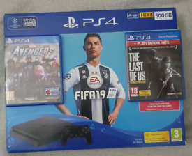 Ps4 slim +2games+ 1controller(deliver local)