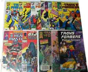 TRANSFORMERS MARVEL COMICS 1984-1990 (PLEASE READ DESCRIPTION)