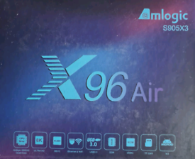 X96 AIR Android TV box with S905X3 amlogic chipset