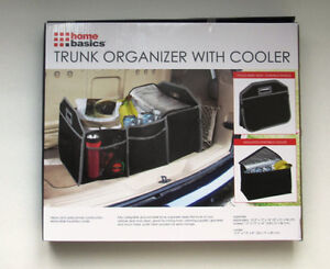 Trunk Organizer with Cooler Never Used
