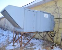 AIR MAKE-UP UNIT with HONEYWELL 7800 serie BURNER * Stirling, ON