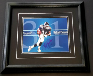 Mike Pinball Clemens Signed Toronto Argos 8x10 Framed