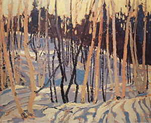 "Limited Edition ""Snow Shadows"" by Tom Thomson"