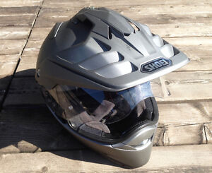 Shoei Hornet X2 Solid Helmet Solid Grey L