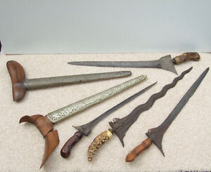 Antigue Indonesian Swords/Knives