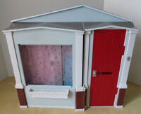 Barbie foldable cottage house