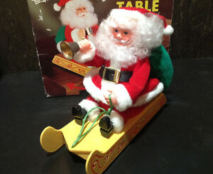 Vintage Santa's Best CLIFFHANGER SANTA CLAUS - NEW IN BOX