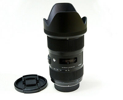SIGMA Art 18-35mm F1.8 DC HSM  Lens For Canon
