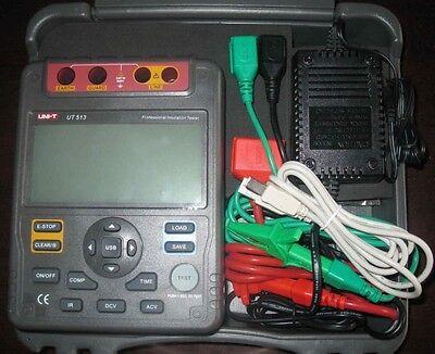 Digital Insulation Resistance Tester Meter Megger 1kg Ohm 5kv Pi Dar Usb Ut513